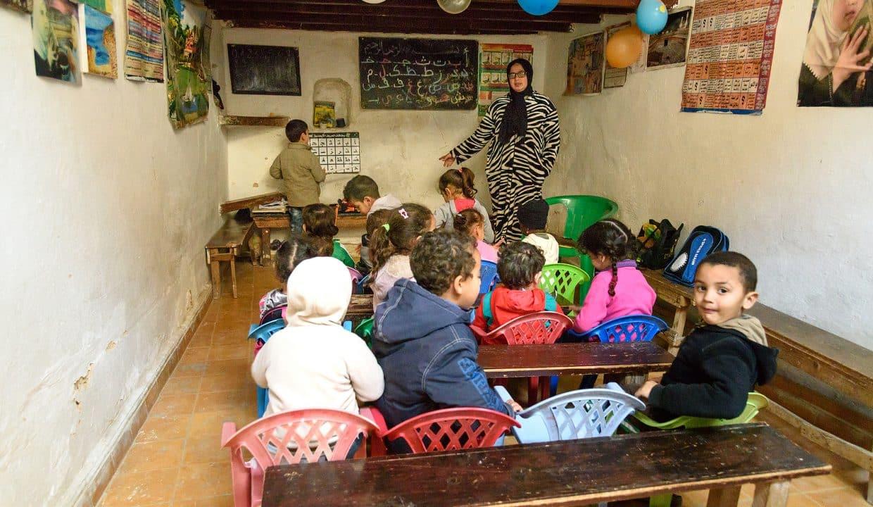 School In Medina. Fes. Morroco