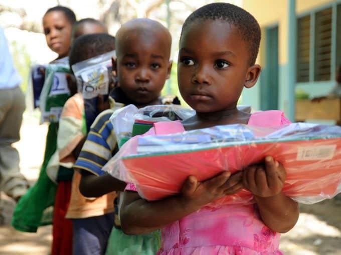 volontariato con i bambini