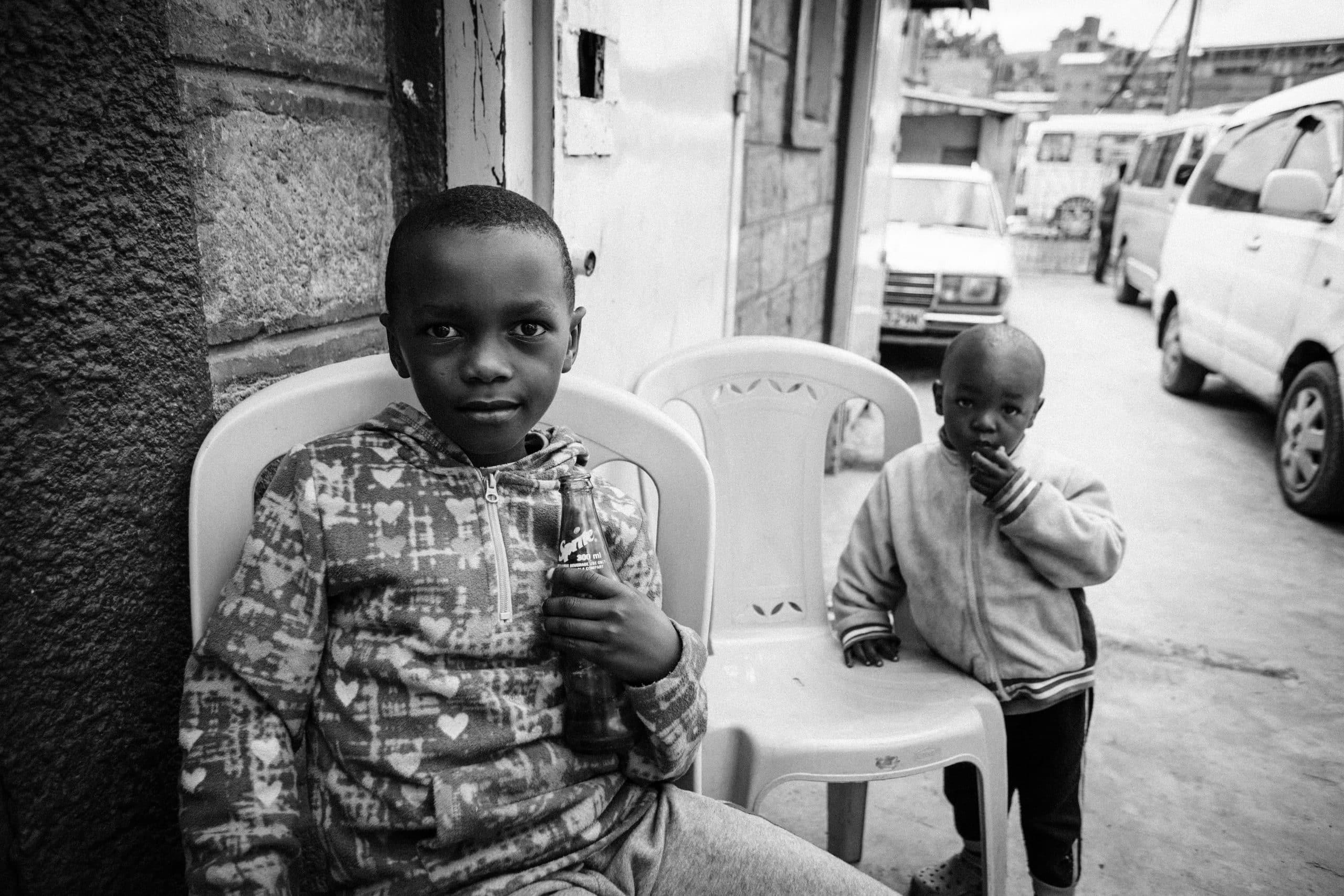Volontariato internazionale in Kenya in un centro per bambini orfani
