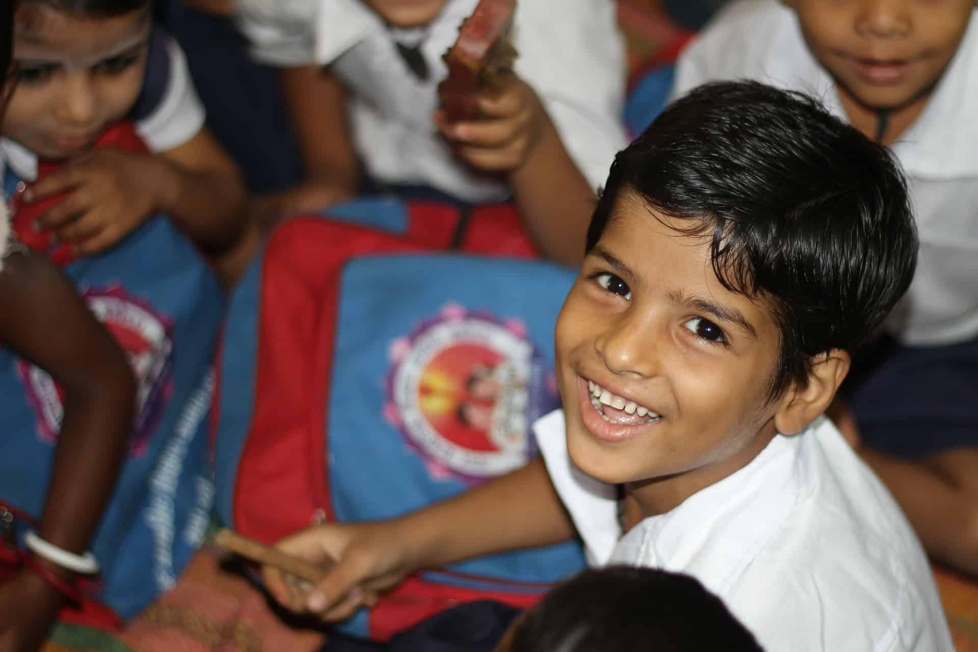 Volontariato internazionale in India sull'ecosostenibilità in una scuola