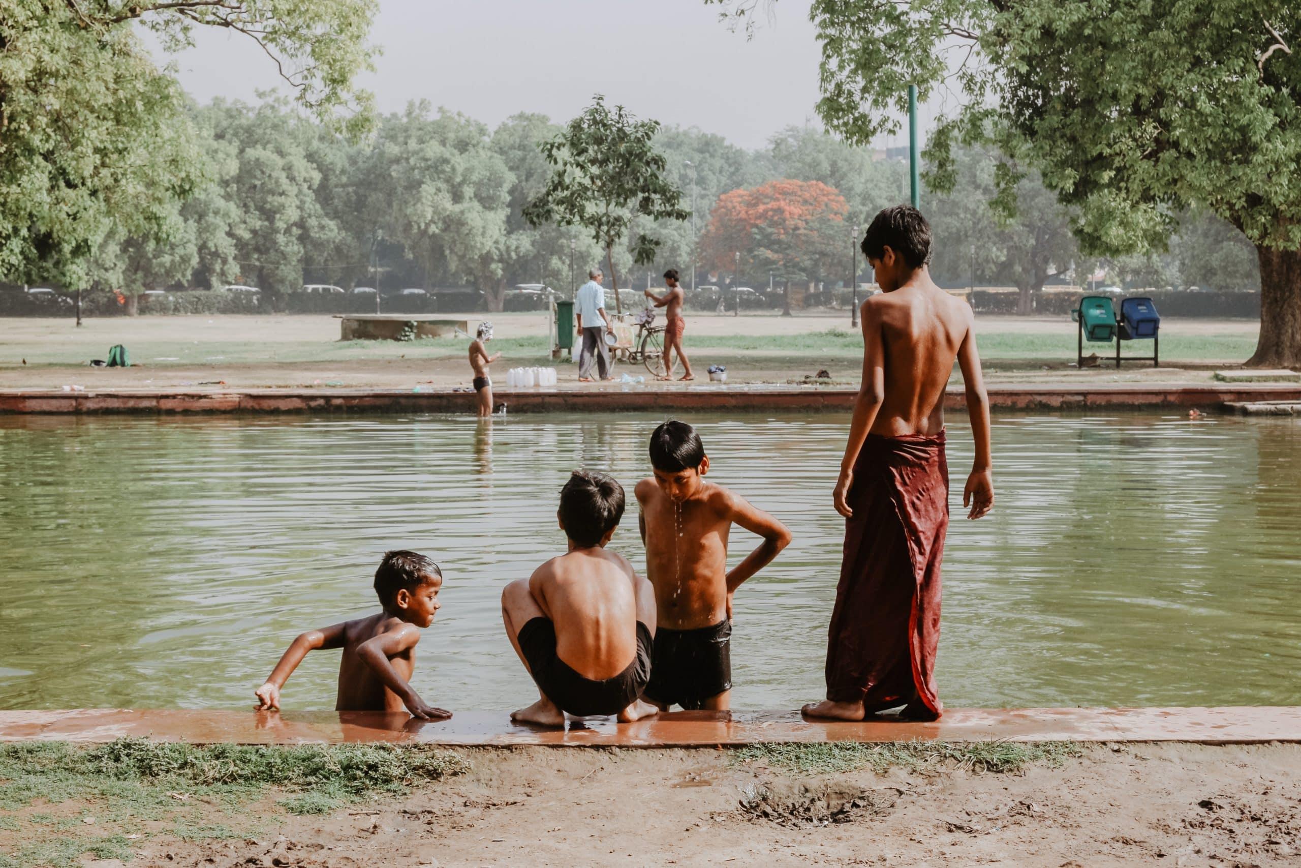 Volontariato Internazionale in India come assistente di progetti per bambini senzatetto
