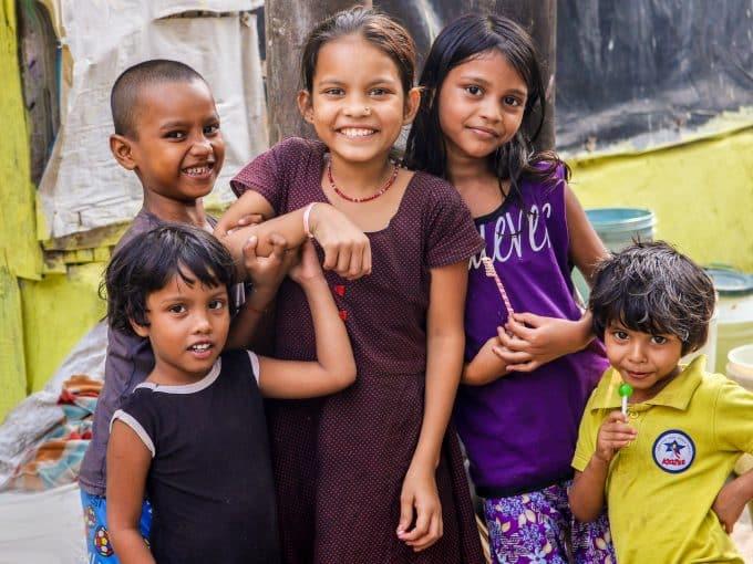 volontariato internazionale india educazione informale bambini